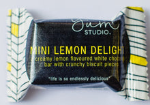 Load image into Gallery viewer, Mini Delights Chocolate Bar - Lemon 15g Ambient