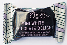 Load image into Gallery viewer, Mini Delights Chocolate Bar - White Chocolate 15g Ambient