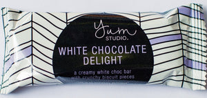 Delights Chocolate Bar - White Chocolate 30g Ambient