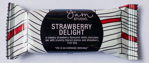 Delights Chocolate Bar - Strawberry 30g Ambient