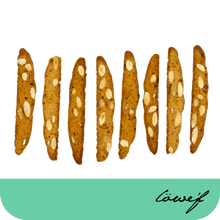 Load image into Gallery viewer, Classic Italian Style Honey Biscotti - Löwe'f Artisanal