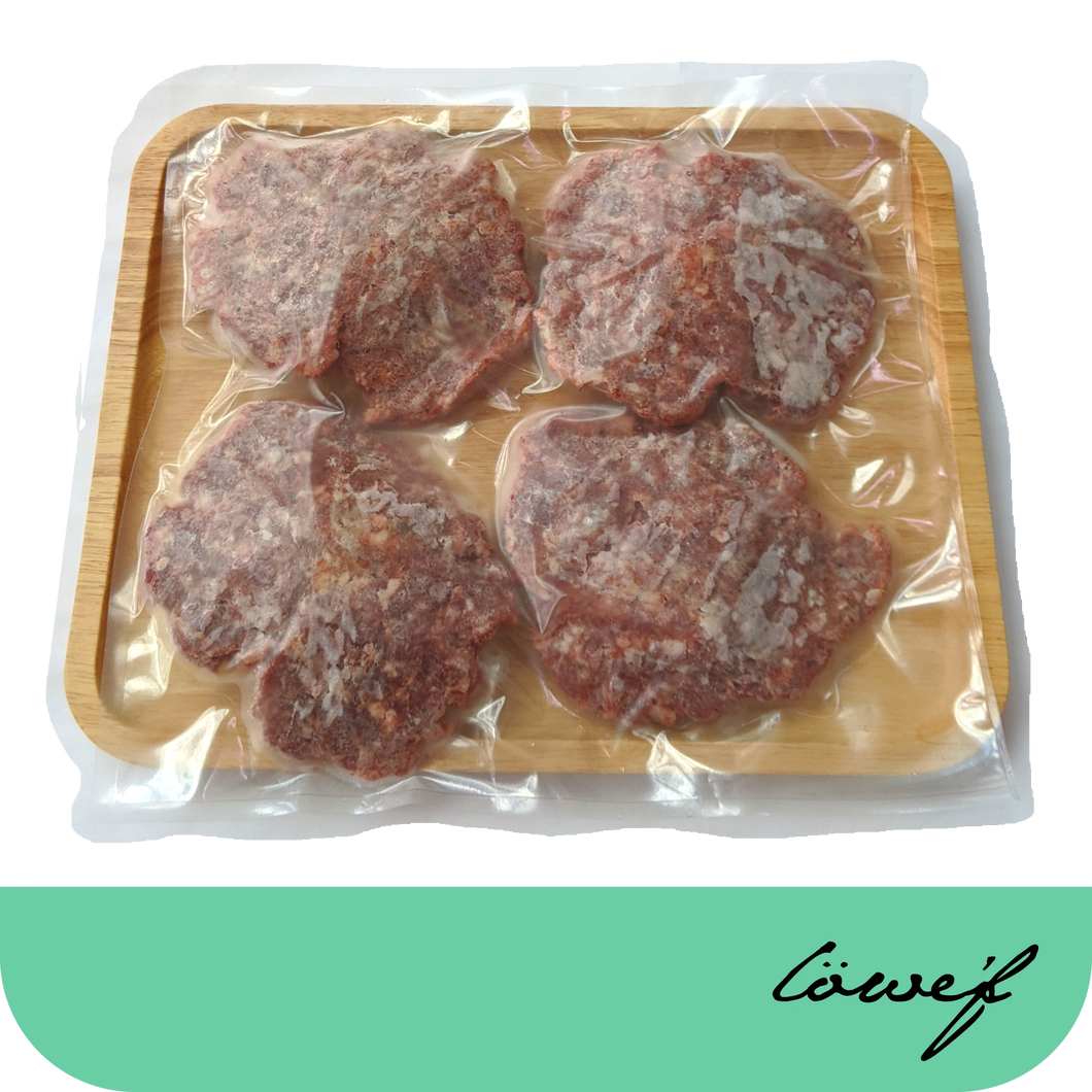 Smoked Beef Patties (frozen)