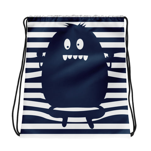 Monster Trap Drawstring bag (4448347127890)
