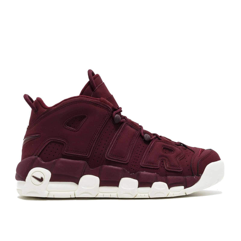 NIKE AIR MORE UPTEMPO 96 QS MAROON