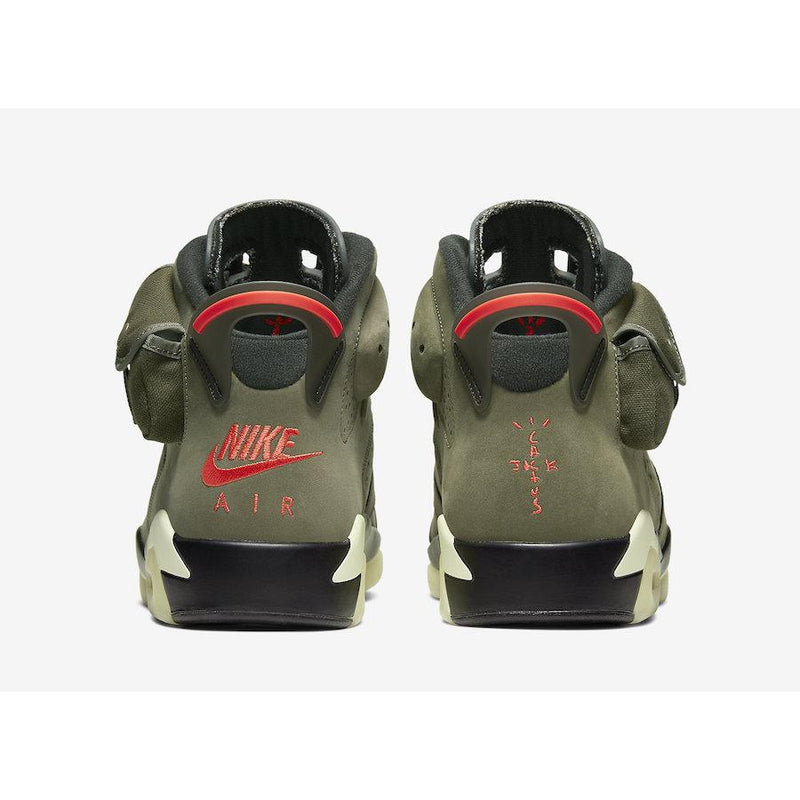 Travis scott X Nike Air Jordan 6 Olive Green