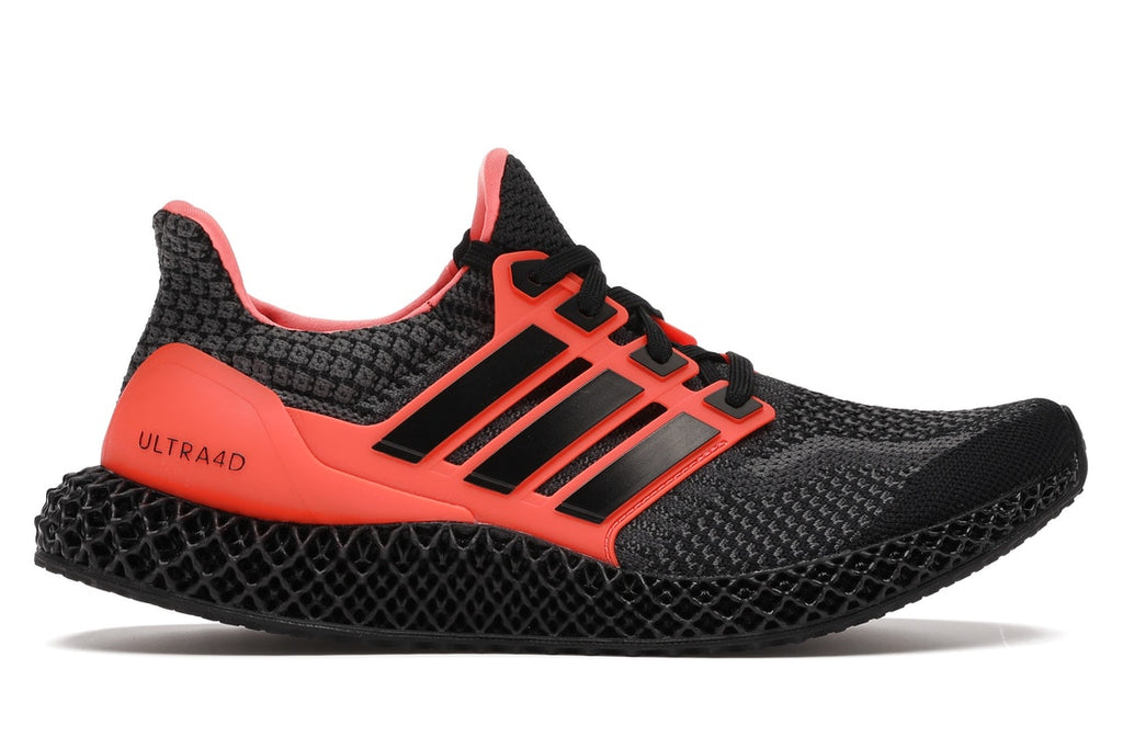 ADIDAS ULTRA 4D CORE BLACK SOLAR RED