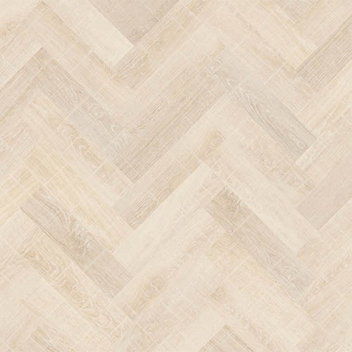 Ivory Washed Oak Parquet