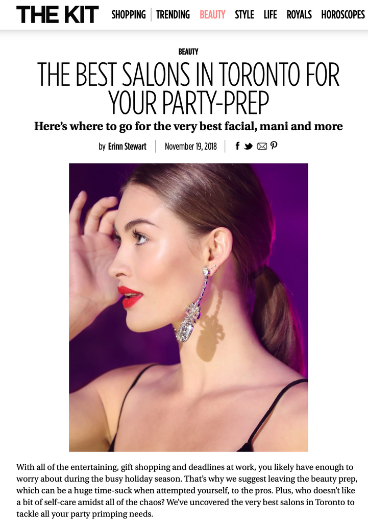 THEKIT.CA VOTED US BEST SALON IN TORONTO FOR YOUR PARTY PREP!