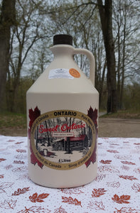 Maple Syrup Plastic Jug