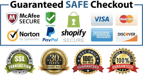 Safe & Secured SSL Payment