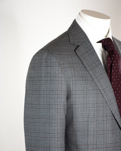 PAL ZILERI Prince of Wales Check Suit