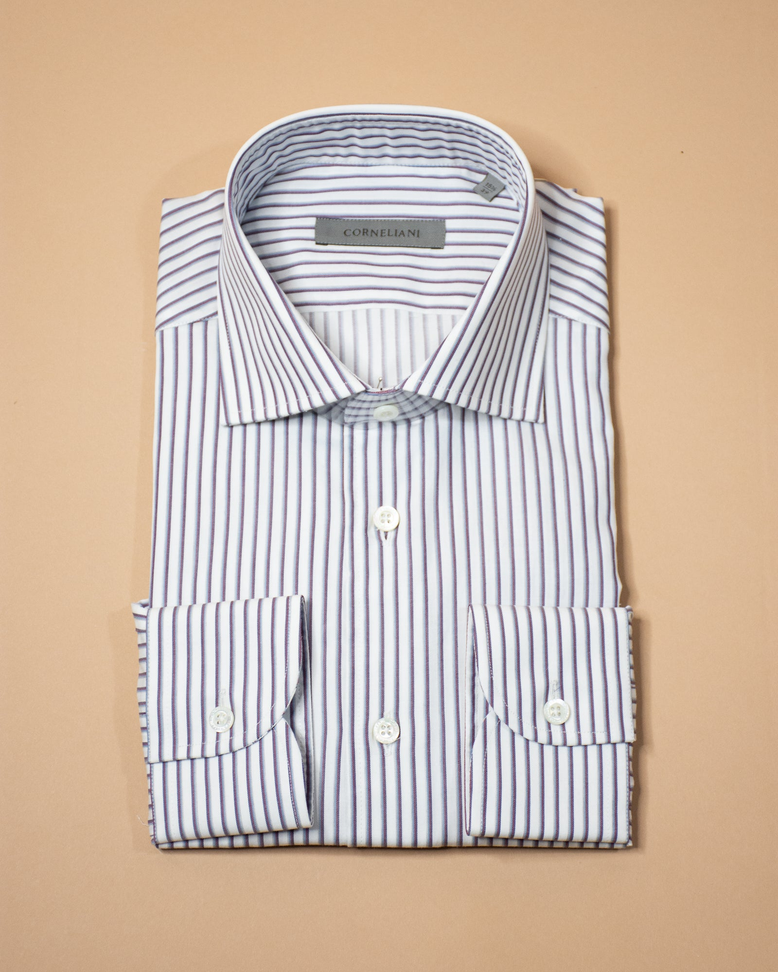 CORNELIANI Stripe Pattern Shirt