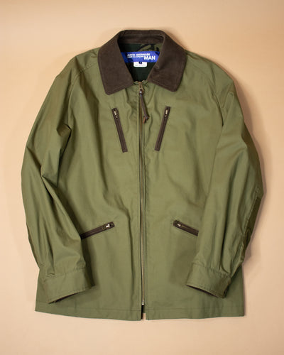 JUNYA W ZIP PKT BARBOUR JKT