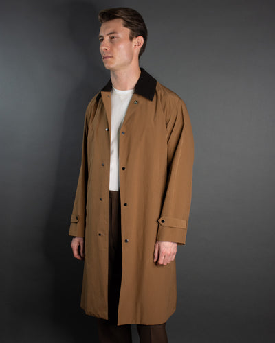 CAMOSHITA Barbour Trench Coat