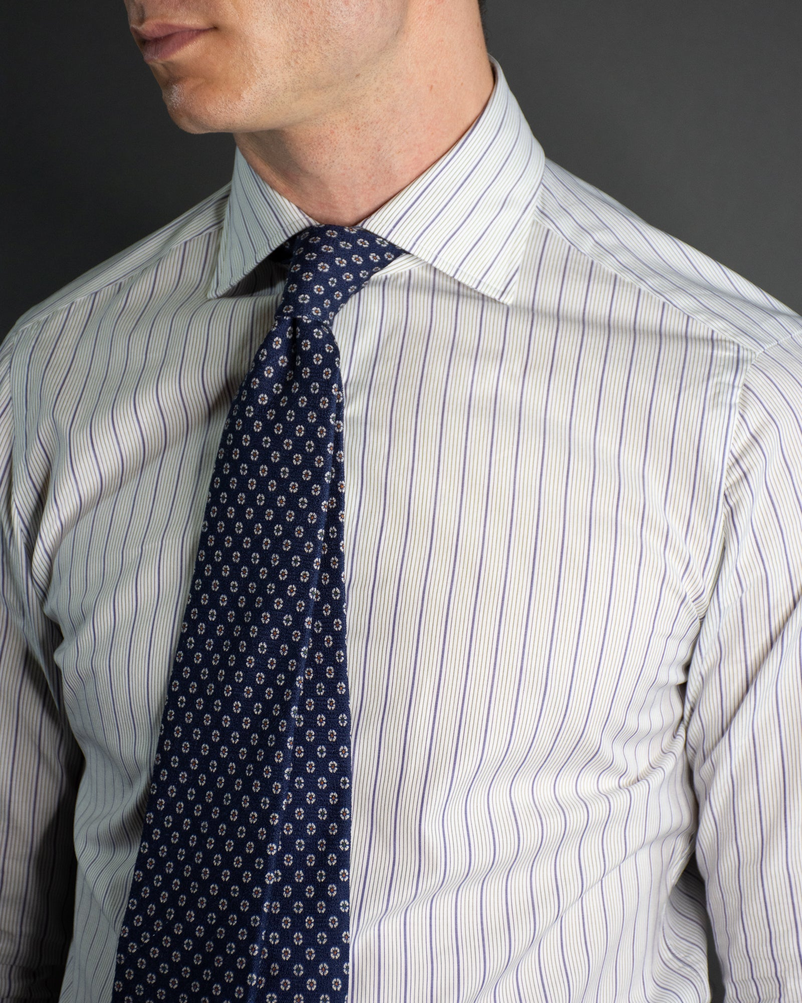 ISAIA Como Mix Business Shirt