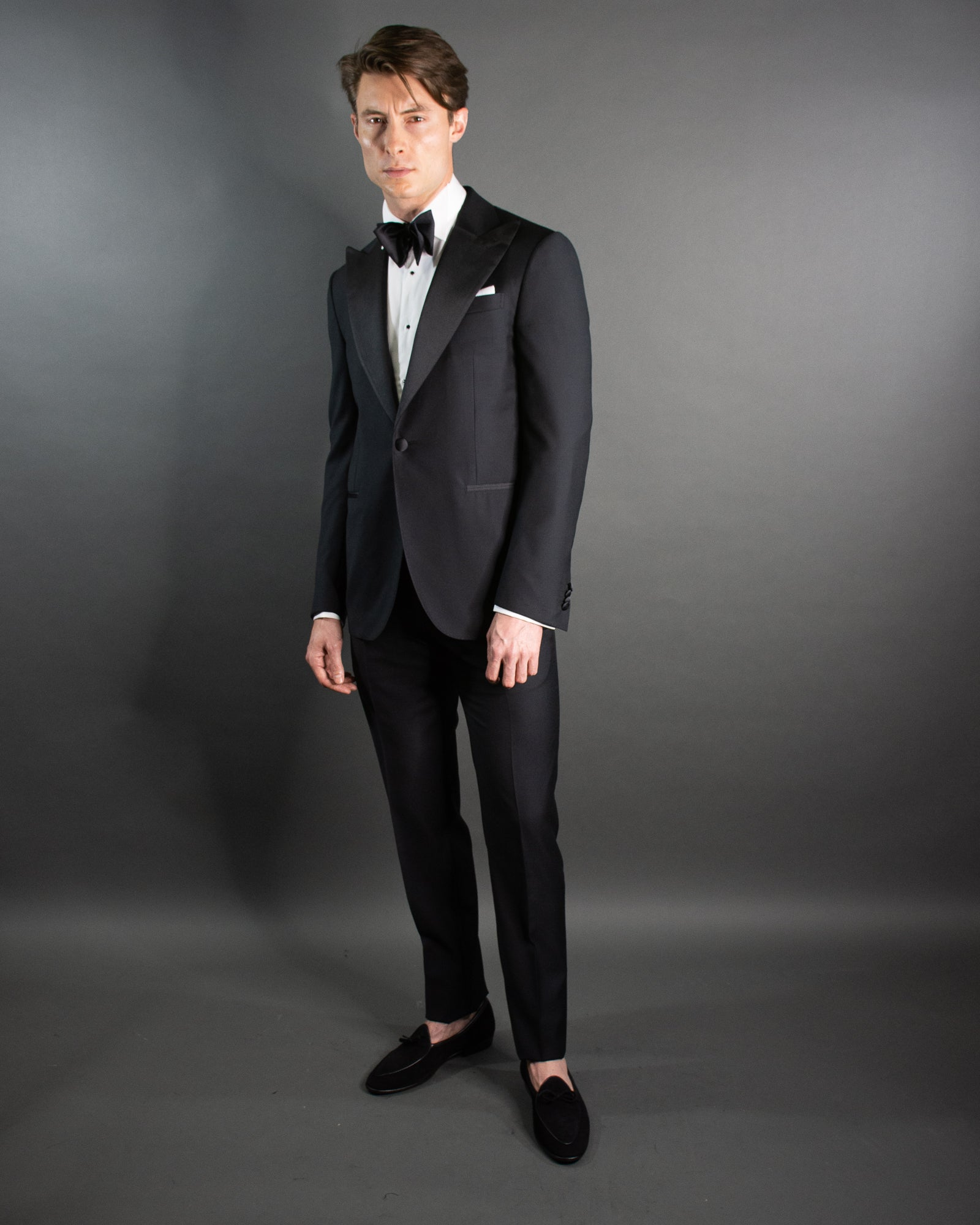 CORNELIANI Peak Lapel Dinner Suit
