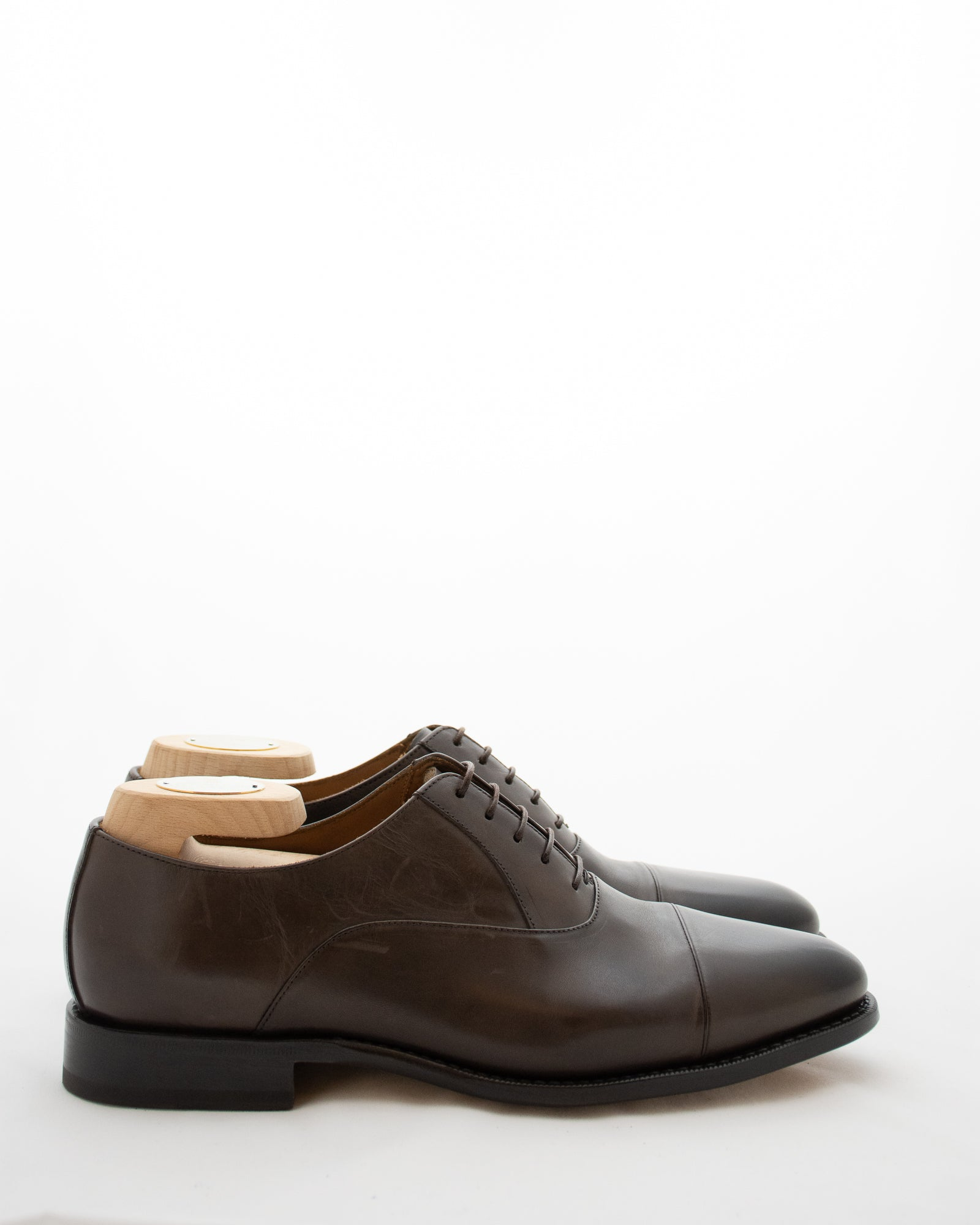 CORNELIANI Cap Toe Lace Up