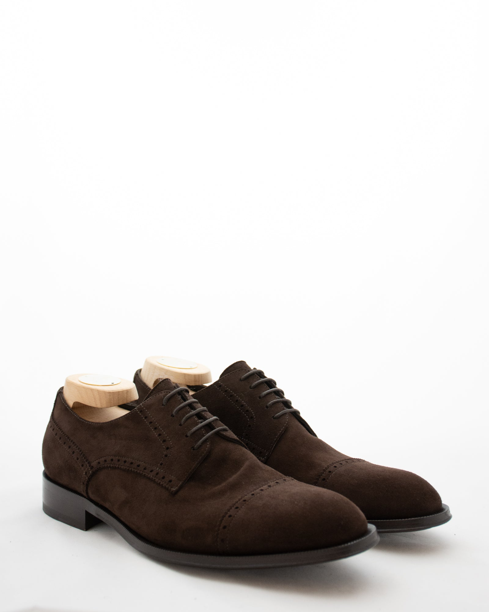 CORNELIANI Suede Brogue