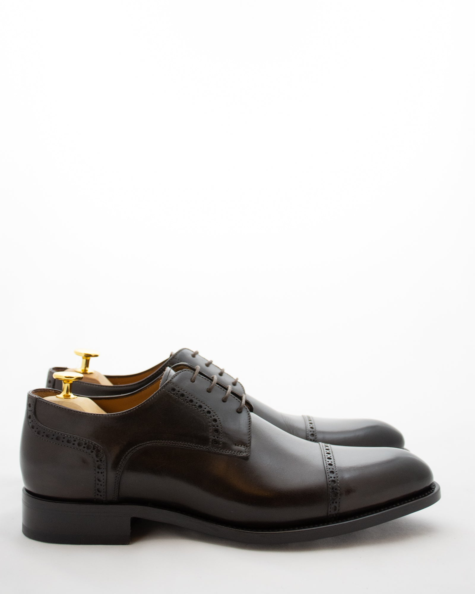 ISAIA Brogue Lace Up