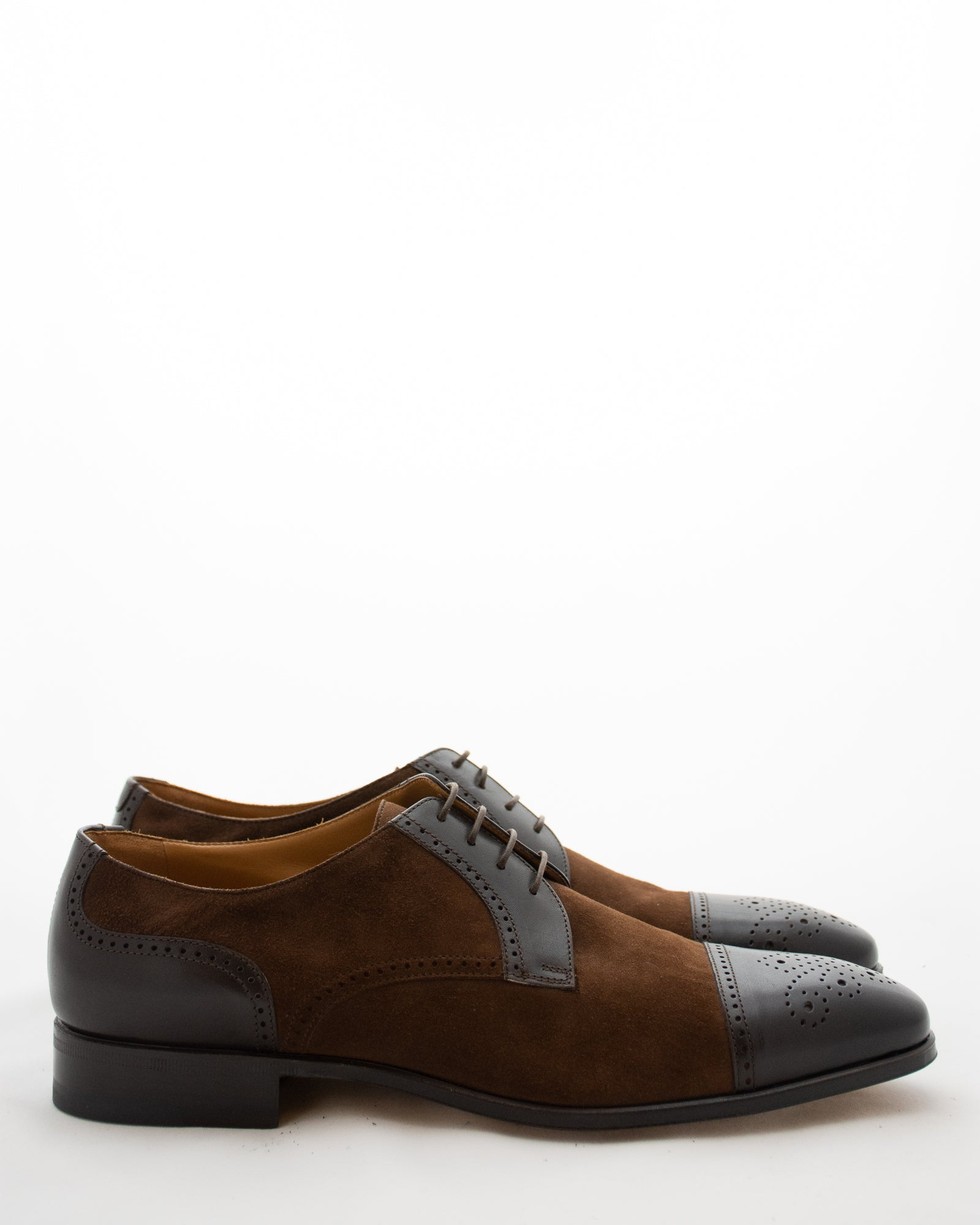 STEMAR Contrast Panel Lace Up