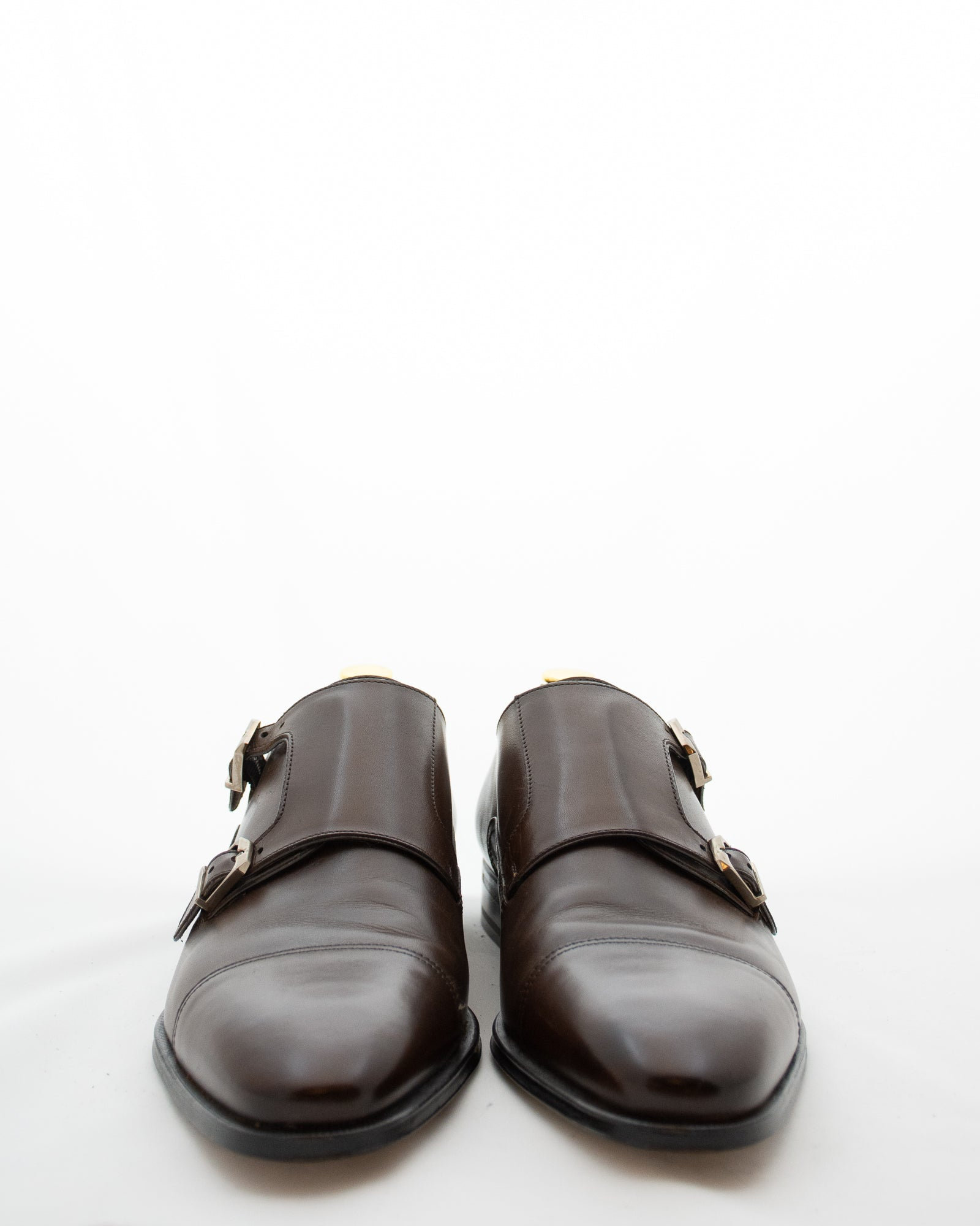 STEMAR Double Monk Strap Shoe