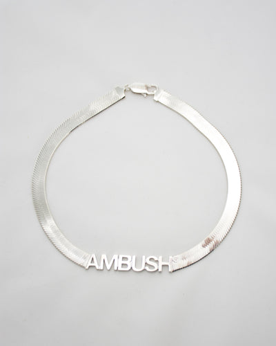 AMBUSH Short Herringbone Necklace