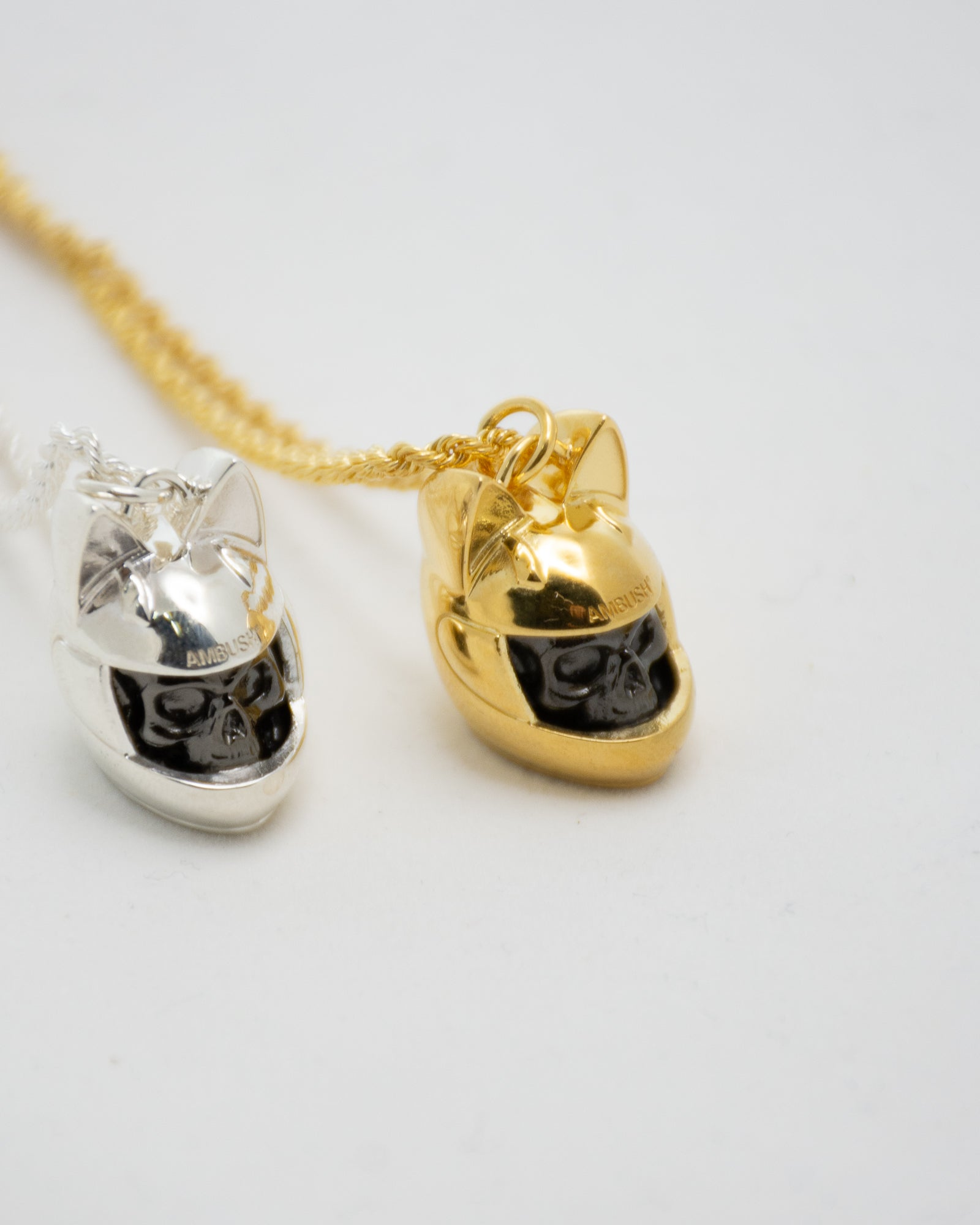 AMBUSH Cat Helmet Necklace
