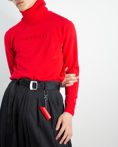 AMBUSH TURTLE NECK KNIT