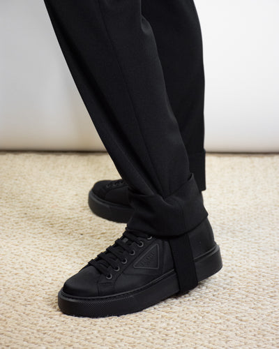PRADA GABERDINE STRETCH TROUSER