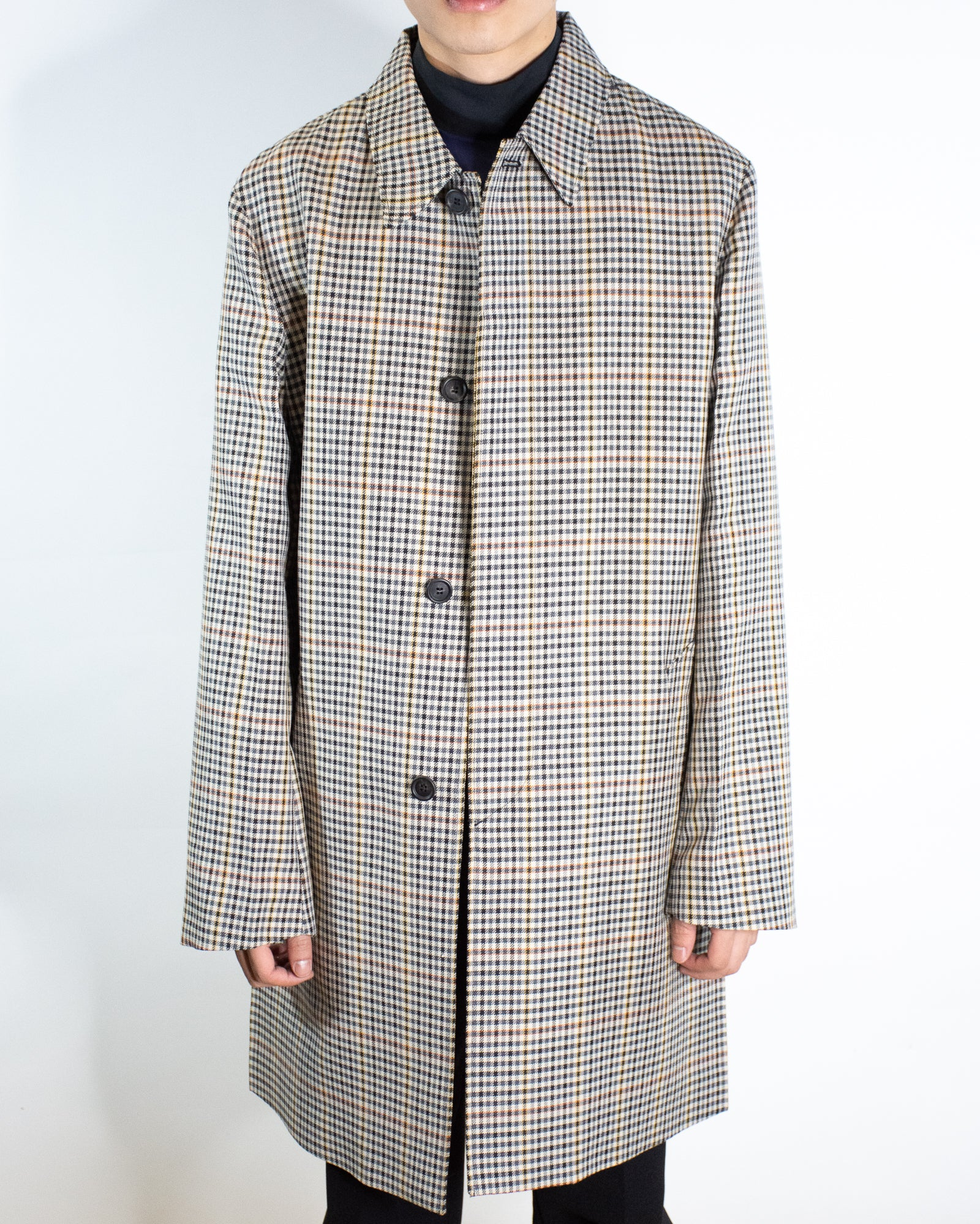PRADA GINGHAM TRENCH