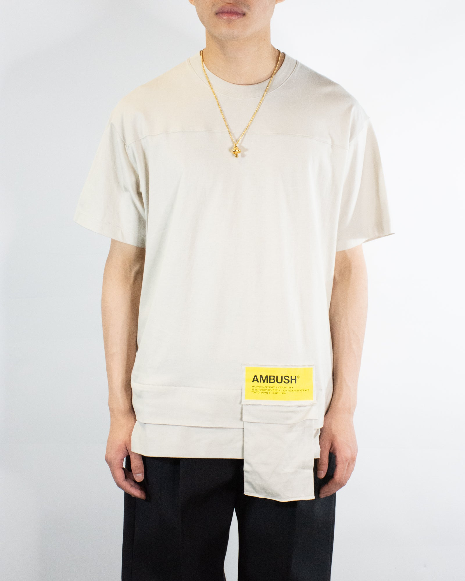AMBUSH NEW WAIST POCKET TEE