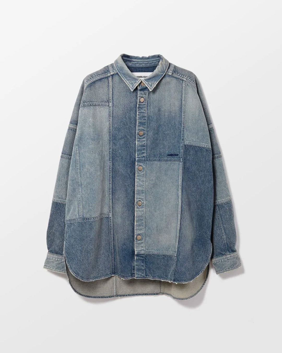 AMBUSH PATCHWORK DENIM SHIRT