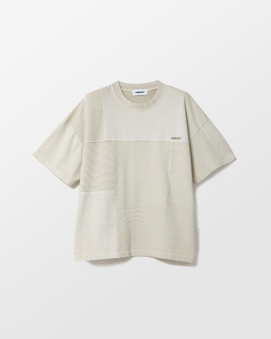 AMBUSH OVERSIZED PATCHWORK TEE