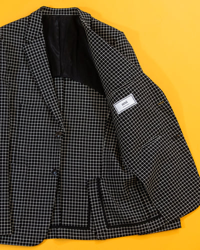 AMI CHECK SPORTS JACKET