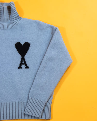AMI De Coeur Felted Turtle Neck