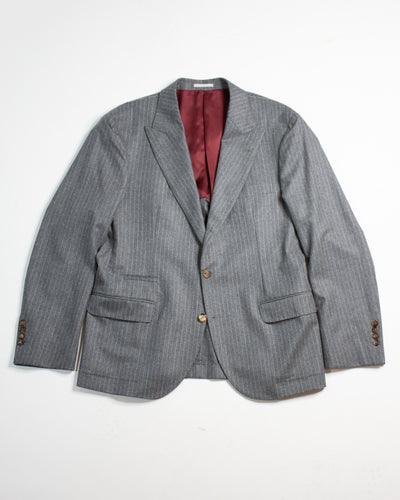 BRUNELLO CUCINELLI Peak Lapel Single Breasted Sports Jacket