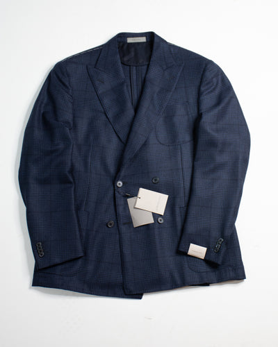CORNELIANI Double Breasted Cashmere Sports Jacket