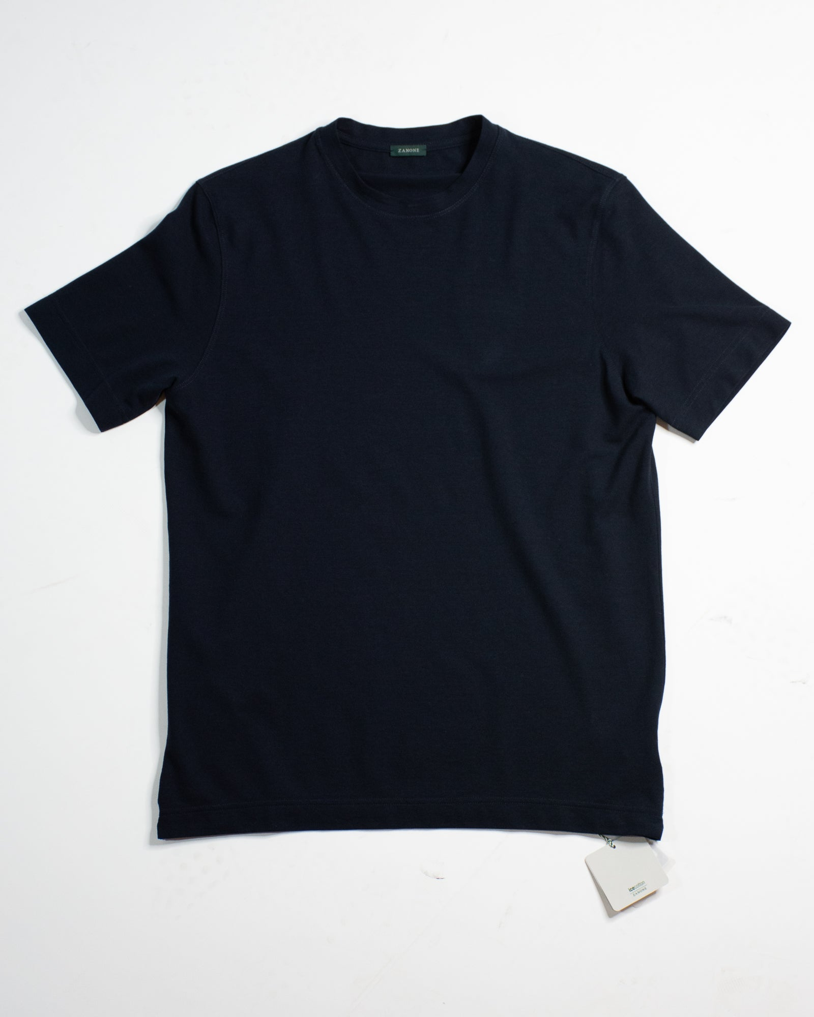 SLOWEAR Zanone Ice Cotton Crew Neck Tee