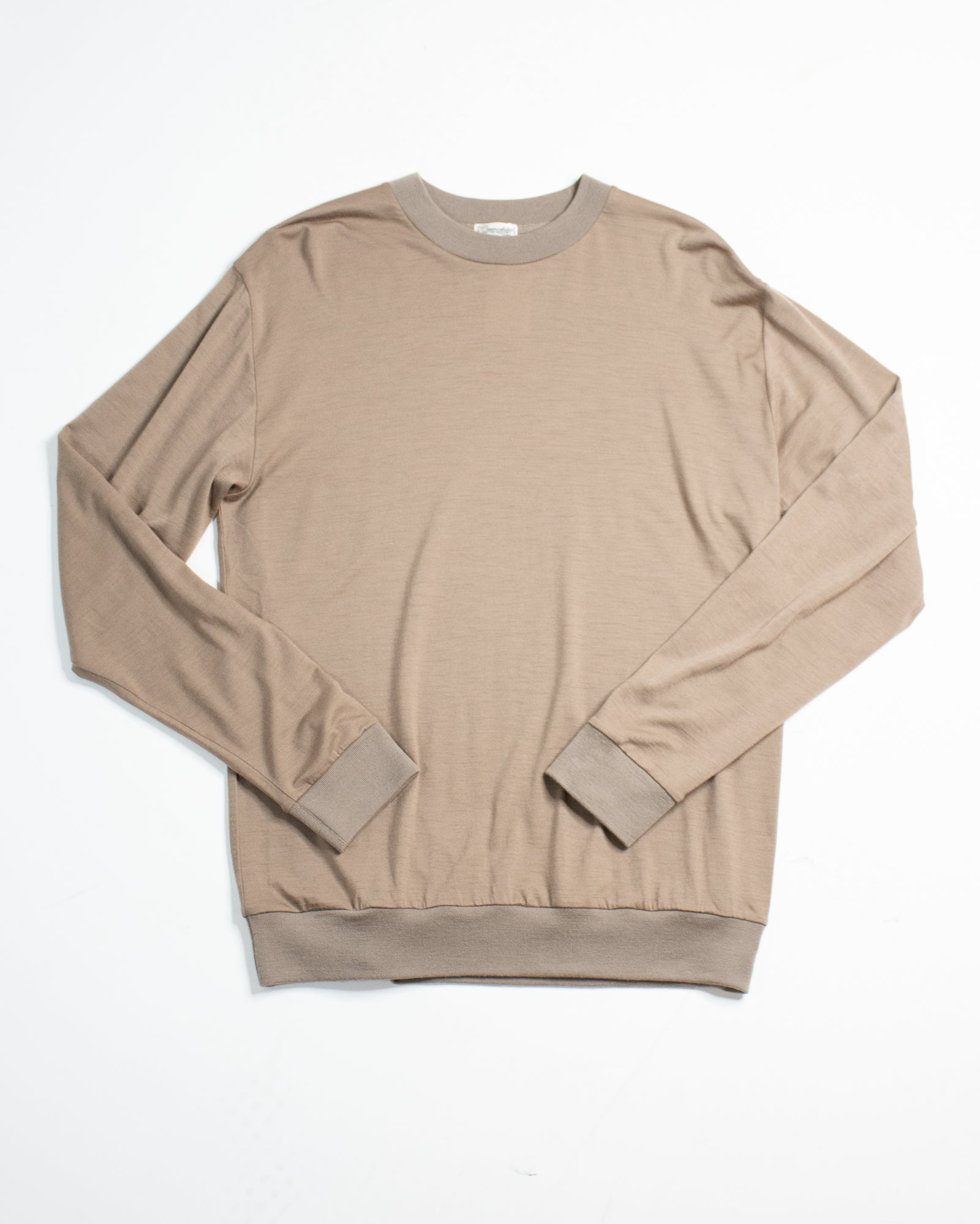 CAMOSHITA Long Sleeve Knit Tee