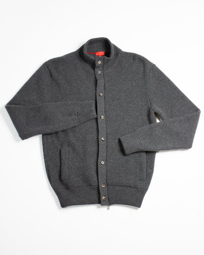 ISAIA Cashmere Knit Bomber