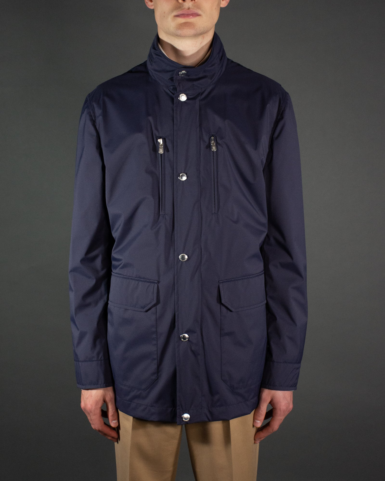 BRUNELLO CUCINELLI Technical Field Jacket