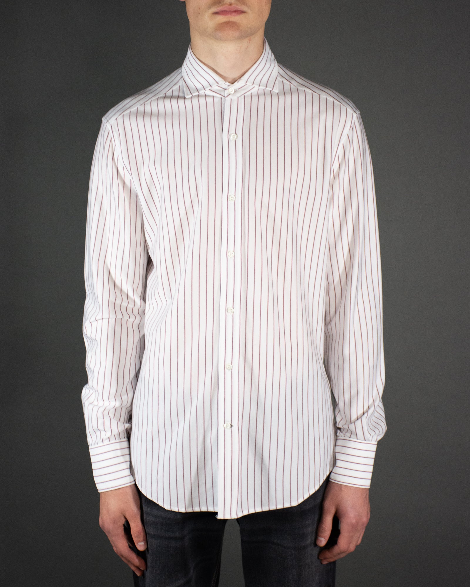 BRUNELLO CUCINELLI Striped Jersey Shirt