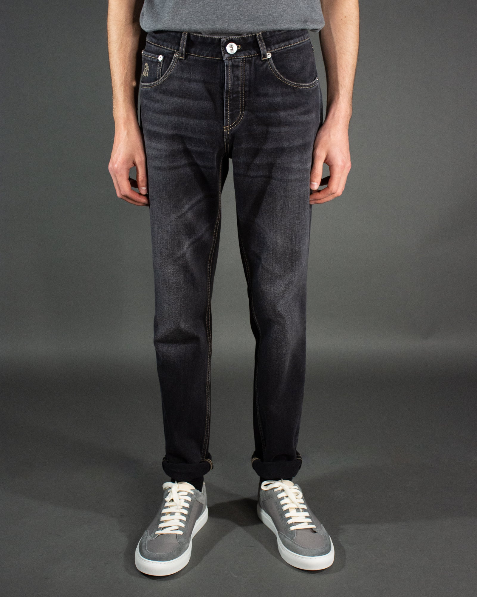 BRUNELLO CUCINELLI Denim Trouser