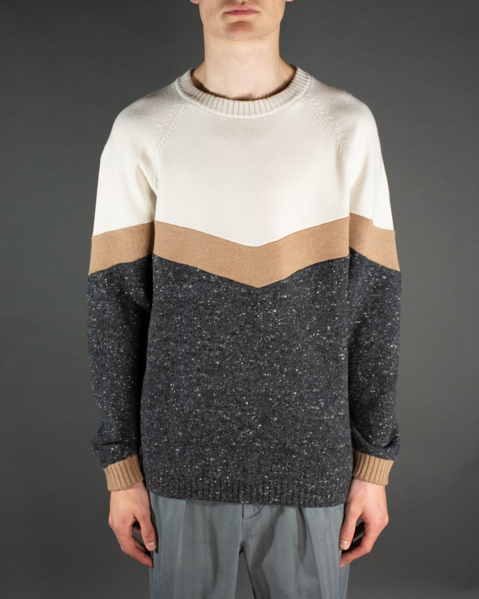 BRUNELLO CUCINELLI Colourblock Knit
