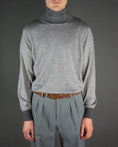 BRUNELLO CUCINELLI Contrast Turtleneck