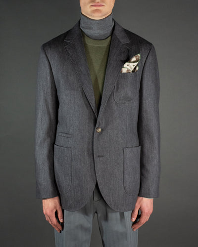 BRUNELLO CUCINELLI Denim Sports Jacket