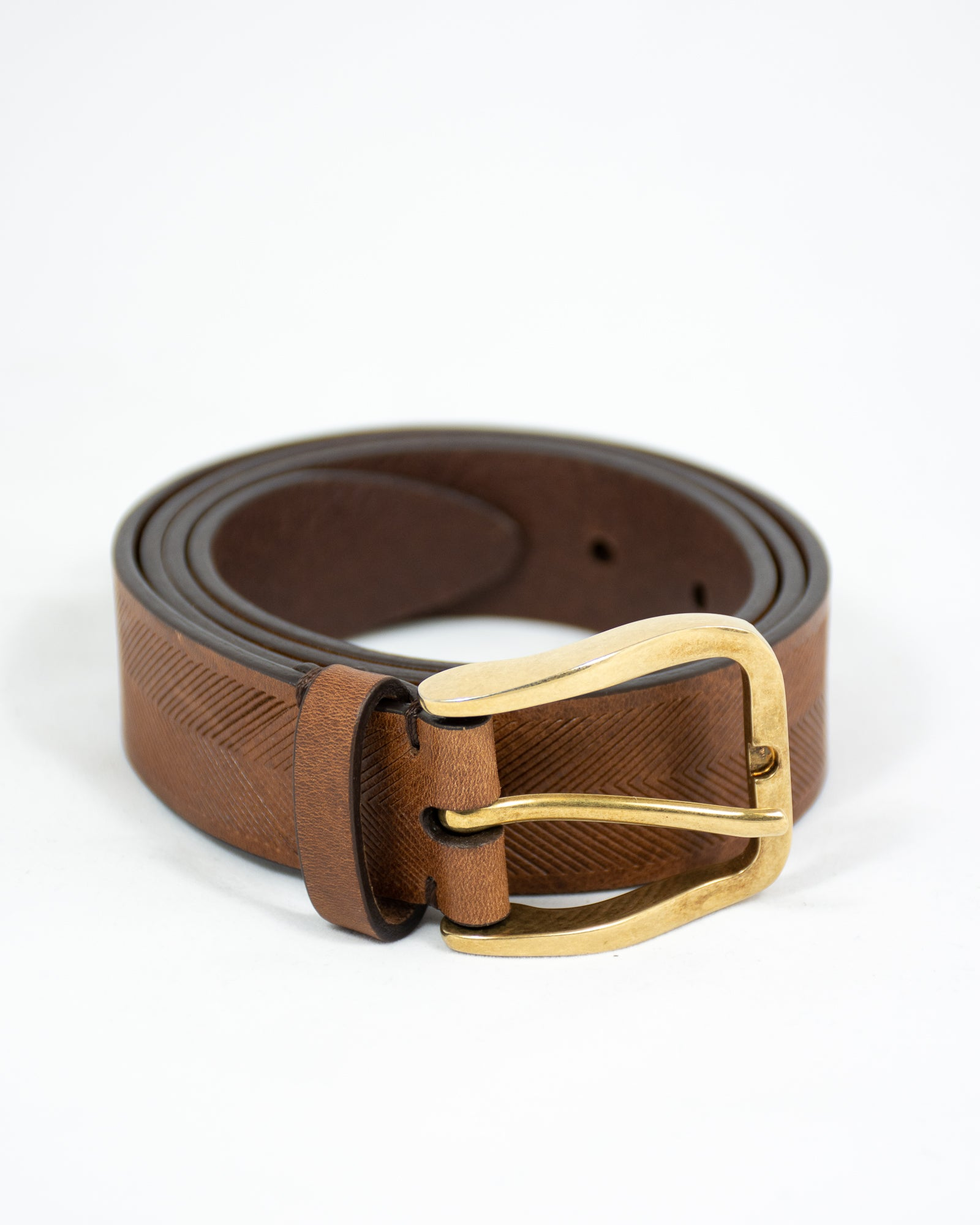 BRUNELLO CUCINELLI Chevron Belt