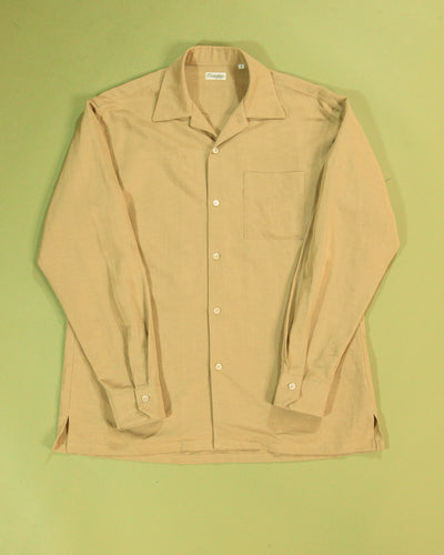 CAMOSHITA Open Collar Shirt