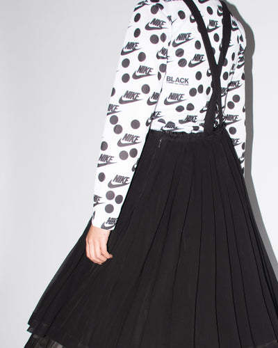 CDG BLACK Skirt with Braces