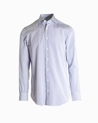 CESARE ATTOLINI STRIPED BUSINESS SHIRT